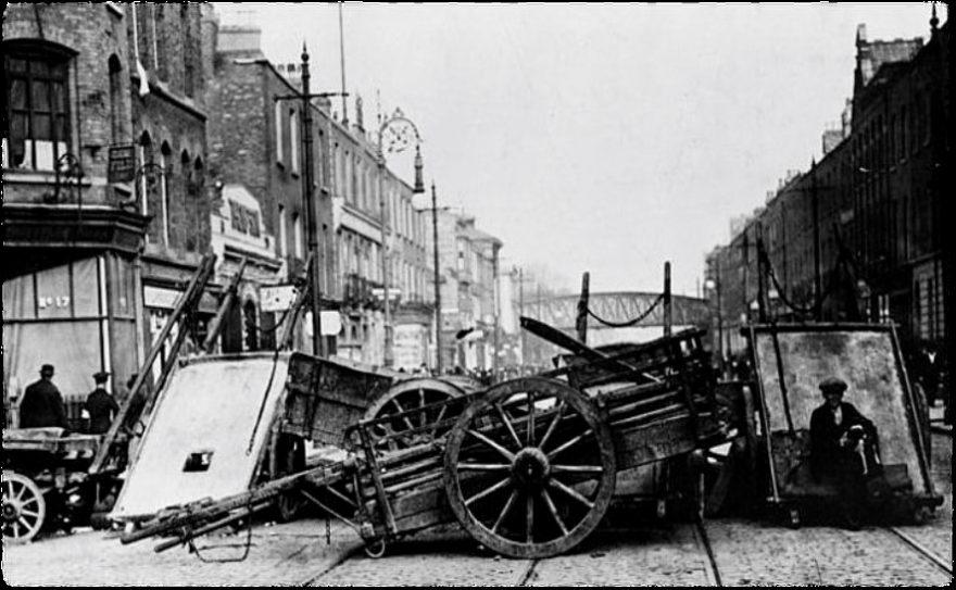 Brunswick Hall around 1916 - Easter Rising Week