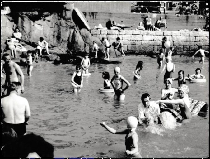 Baptisms at Sandycove in the early 1970s