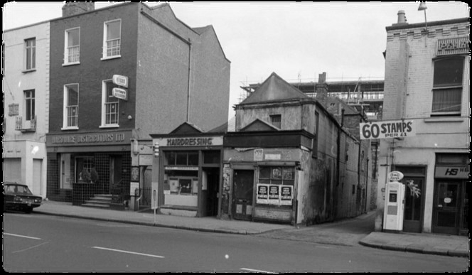Brunswick Hall around 1973 ... Dereliction!