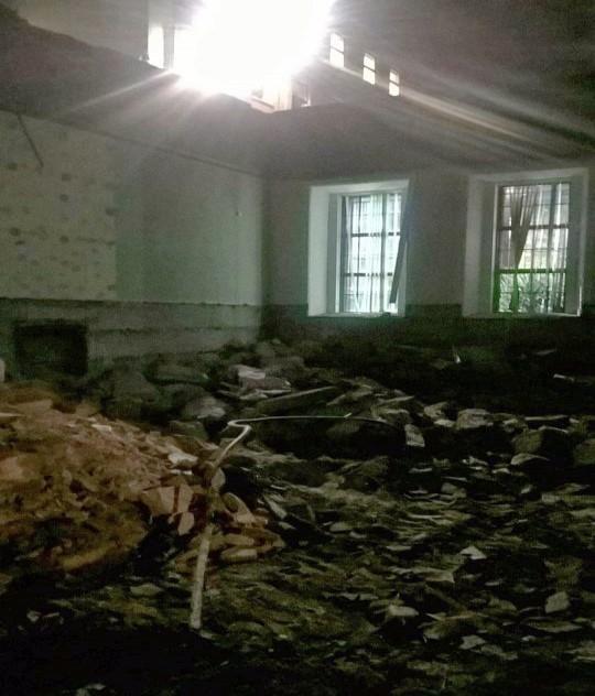 Brunswick Hall 2016 … Demolition